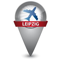 Leipzig Flughafen - Map Pin
