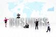Business global people