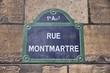 Paris street - Rue Montmartre
