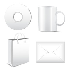 Set Of Packaging Icons Isolated On White Background