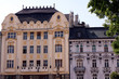 Historische Fassaden in Bratislava