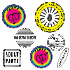 club stamps series