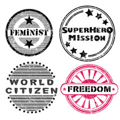 freedom stamps series