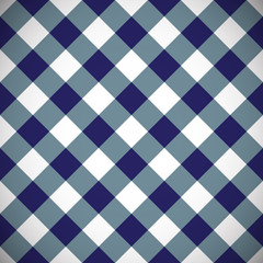 Tilted gingham plaid pattern