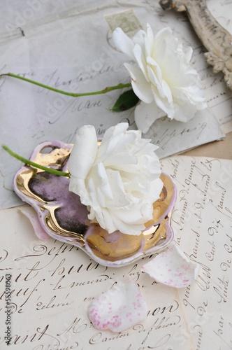 Weiße Rosen © ischoenrock