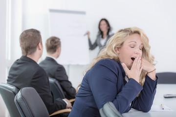 Langweiliges Seminar