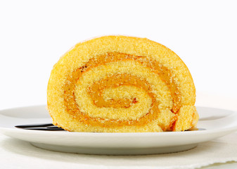 Peanut Swiss Roll
