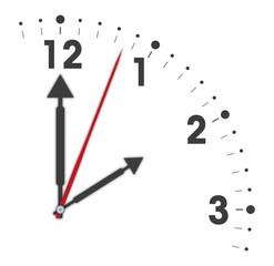 Ausschnitt Uhr