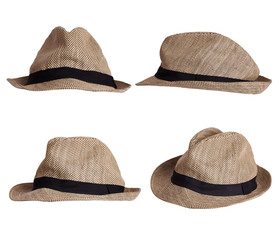 Men's hat at different angles