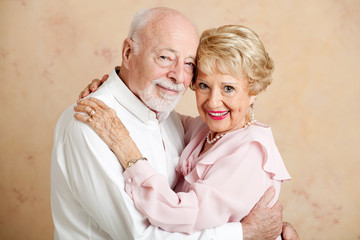Senior Couple - Loving Portrait