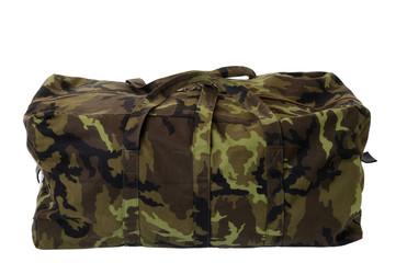 Green millitary bag