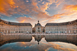 Place de la Bourse w Bordeaux, Francja