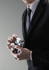 Elegant photographer