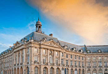 National Customs Museum at Place de la Bourse in  Bordeaux, Fran