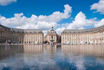 Palais de la Bourse located at Bordeaux, France