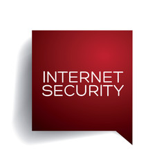 Internet security concept