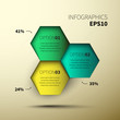 Vector design infographic