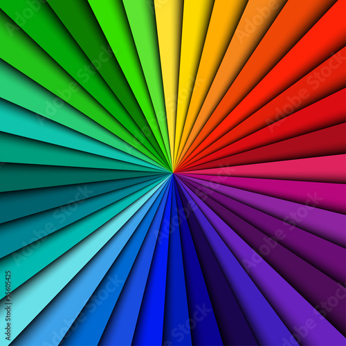 Abstract color background spectrum lines © kurkalukas