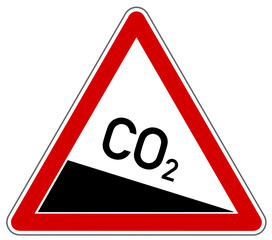 CO2 Emission Schild  #130827-svg01