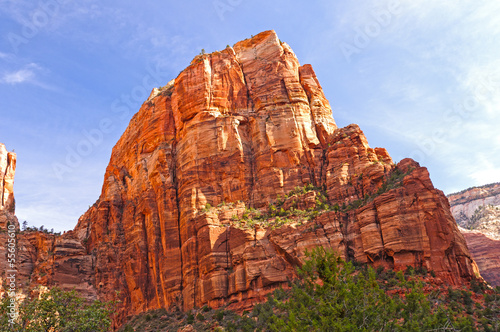 Sandstone Monolith in morning light