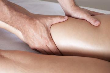 Oberschenkelmassage
