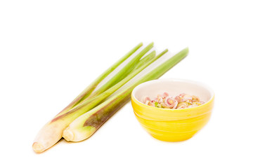 lemon grass and sliced in the blow