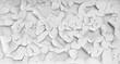 peeling painting texture with cracks. White grunge background