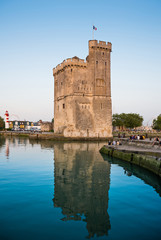 La Rochelle harbour, France