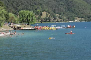 Lago di Ledro, Italia