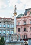 City views of Brno, Czech Republic