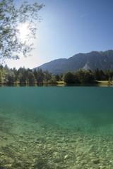 Alpines Tauchen - Lechausee
