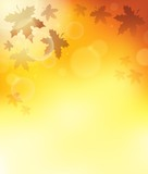 Autumn theme background 3