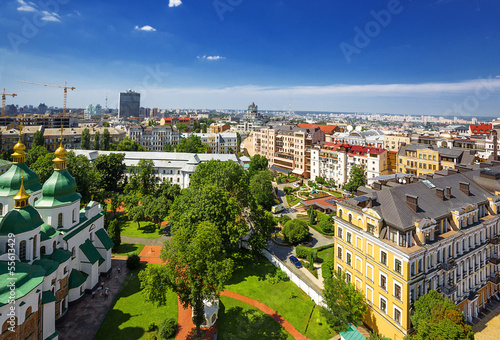 cityscape of Kiev. Ukraine.