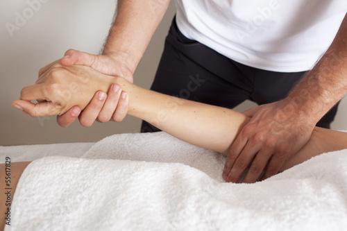 Arm strecken