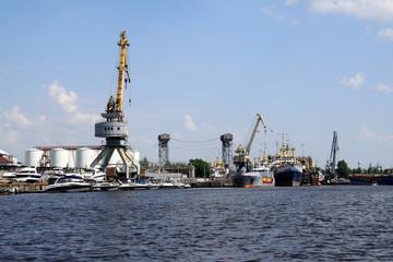 Hafen in Kaliningrad