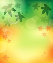 Autumn theme background 4