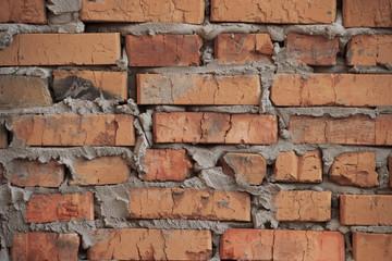 Rough brickwork / brick wall background