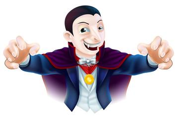 Halloween Cartoon Dracula