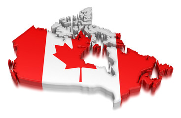 Canada (clipping path included)