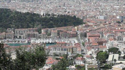City of Nice from above