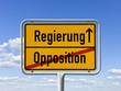 Wechsel von der Opposition zur Regierung