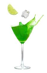 Cocktail drink splash