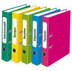 Classeurs de bureau. Gestion administrative et comptable II