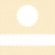 Punkt Cover Hintergrund mit Textfreiraum