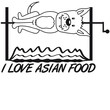 I Love Asian Food