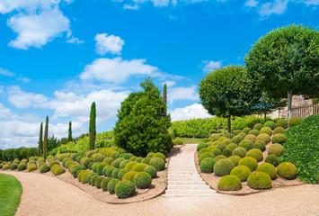 Garden of Amboise Castle, France