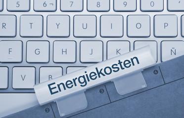 Energiekosten tastatur
