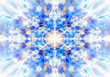 Light blue kaleidoscope background - 55628667