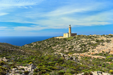 Sardinia - lighthouse in San pietro island