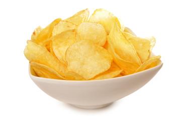 Patatas fritas en aperitivo